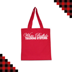 Red Canvas Bag $10.00